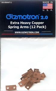 12 Pack Extra-Heavy Copper Springs